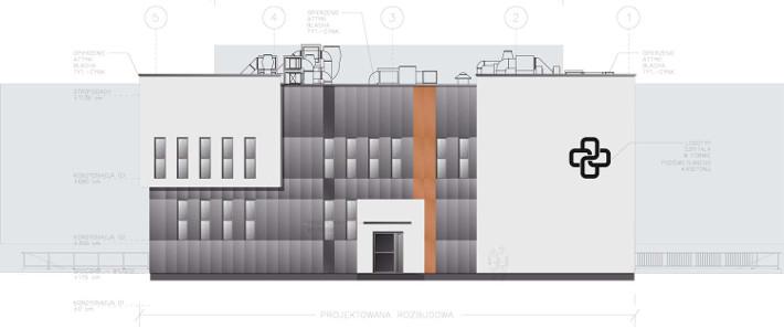 Szpital Powiatowy w Pruszkowie - etap II, dobudowa pawilonu D