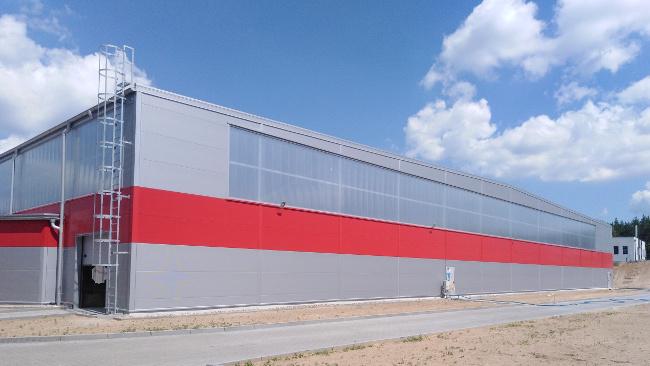 Budynek produkcyjno-magazynowy AQ Wiring Systems STG