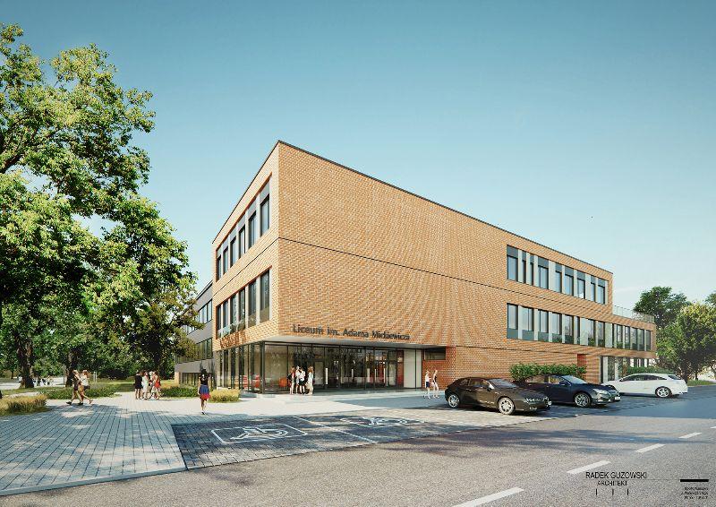 Liceum Ogólnokształcące im. Adama Mickiewicza w Piastowie (rozbudowa)
